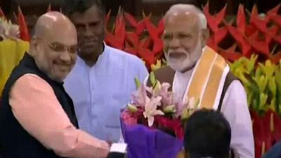 PM Modi Unanimously Elected Leader Of NDA