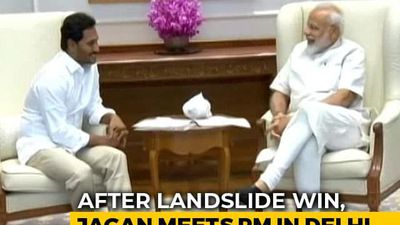 Jagan Reddy Meets PM Modi In Delhi After Massive Win In Andhra Pradesh
