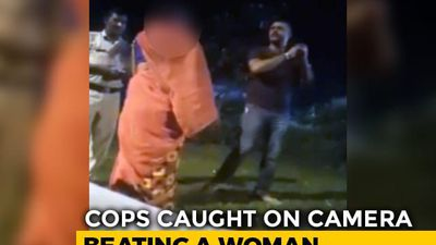 5 Policemen Face Action After Video Shows Cops Thrashing Woman In Haryana