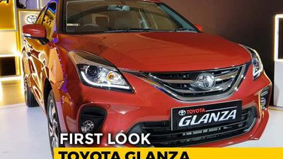 First Look Toyota Glanza