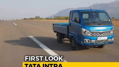 Tata Intra Compact Truck First Look