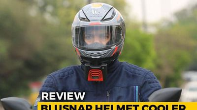 BluSnap Helmet Cooler Review