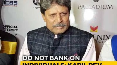 Don't Bank On Individuals, Want India To Win The World Cup, Says Kapil Dev