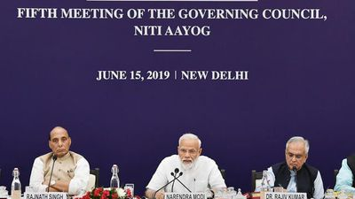 PM Modi Chairs NITI Aayog Meeting