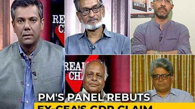 PM'S Panel vs Arvind Subramanian On GDP