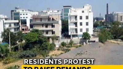 Gurgaon Residents Out On Streets In Protest Against Water Crisis