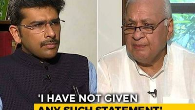 """All I Said Was We Aren't Society Changers"": Ex-Minister Arif Mohammad Khan To NDTV"