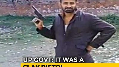 """Pistol Made Of Clay"": UP Government On Inmates Flashing Gun In Video"