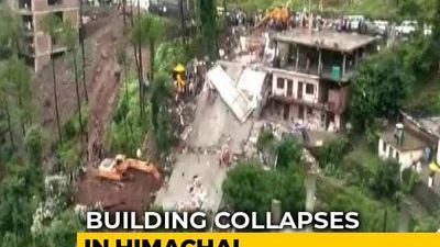 2 Dead, Several Soldiers Trapped As Building Collapses In Himachal