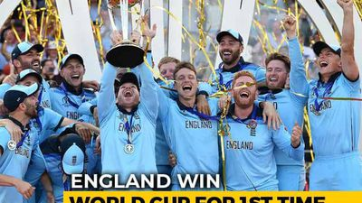 England Beat New Zealand In Dramatic Final To Win Their Maiden World Cup