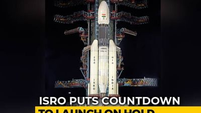 Launch Of Chandrayaan 2 Called Off By ISRO, Set To Be Rescheduled