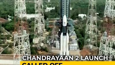 """Chandrayaan 2 Launch Called Off After """"Technical Snag"""""""