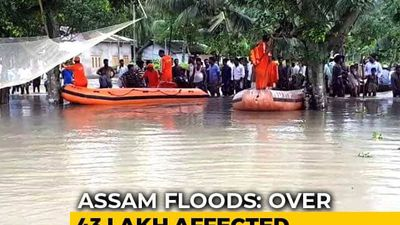 43 Lakh Affected As Assam Flood Situation Turns Critical