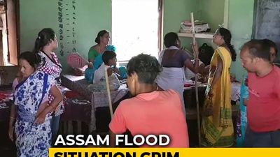 In Flood-Ravaged Assam, How People Are Coping In Relief Camps