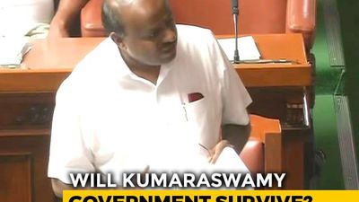 HD Kumaraswamy Moves Trust Motion Amid Karnataka Turmoil