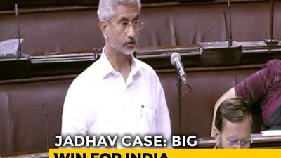 """Kulbhushan Jadhav's Family Has Shown Exemplary Courage"": S Jaishankar"