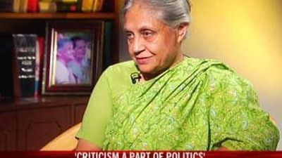 Sheila Dikshit On Her Political Career (Aired May, 2009)