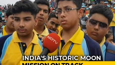 """""""Inspirational"""": 5,000 Get Front Row Seats For Chandrayaan 2 Lift-Off"""