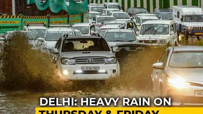 Heavy Rain Predicted In Delhi This Week, Orange Alert Issued