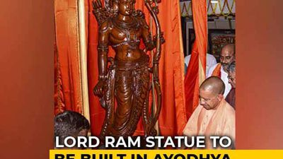 Yogi Adityanath's Planned Lord Ram Statue, At 251 Metres, World's Tallest
