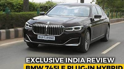 Exclusive India Review: BMW 745Le Plug-In Hybrid