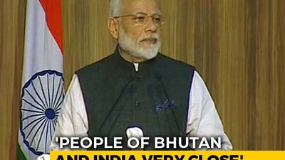 """No Better Time To Be Young Than Now"": PM To Students In Bhutan"