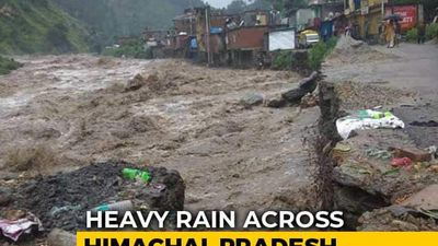 Heavy Rain Triggers Landslides In Himachal Pradesh, Several Roads Blocked