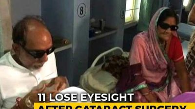 Eleven Lose Sight After Cataract Surgery At Indore Hospital