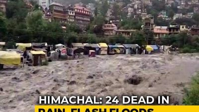 Rain Fury Kills 24 In Himachal Pradesh, Delhi On Flood Alert