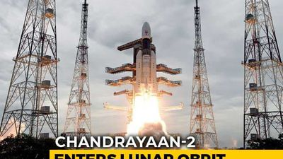 Chandrayaan 2 Successfully Placed In Moon's Orbit In Tricky Operation