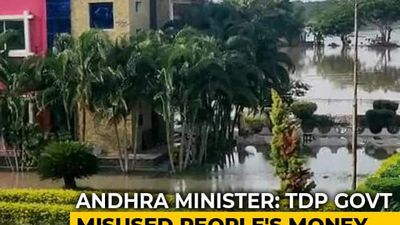 """""""Amaravati Not Safe Place For Capital,"""" Says Andhra Minister After Floods"""