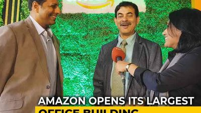 Amazon Opens Its Largest Campus in the World in Hyderabad