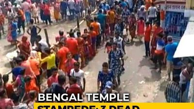 Three Dead, More Than 20 Injured In Stampede At Temple Near Kolkata