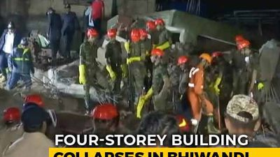 2 Dead As 4-Storey Building Collapses In Maharashtra, Many Feared Trapped