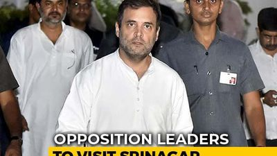 As Opposition Leaders Head To Srinagar, Government Says Stay Away