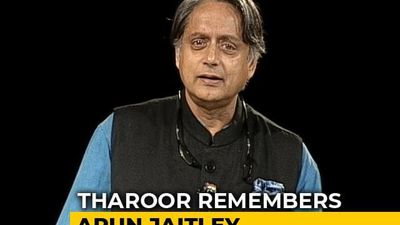"""We First Met When..."": Shashi Tharoor Remembers Arun Jaitley"