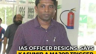 "IAS Officer Quits, Says ""Disturbed"" Over Restrictions In J&K"
