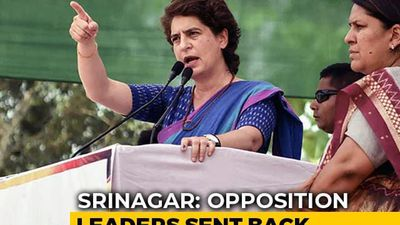 """Nothing More Anti-National Than..."": Priyanka Gandhi Slams Centre On J&K"