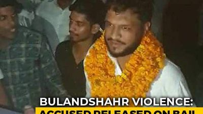 Hero's Welcome For Bailed-Out Accused In UP Violence That Killed Cop