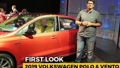 2019 Volkswagen Polo And Vento Facelift First Look