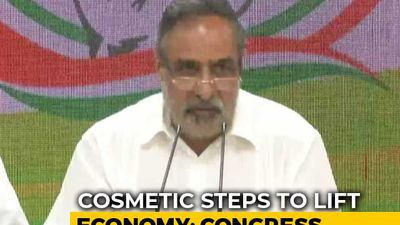 "Nirmala Sitharaman ""Clueless"", Steps To Lift Economy ""Cosmetic"": Congress"