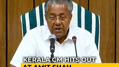 """War Cry"": Kerala Chief Minister On Amit Shah's Hindi Diwas Tweet"
