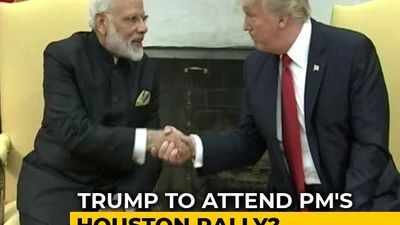 "Trump May Share Stage With PM At ""Howdy Modi"" Event In Texas: Sources"