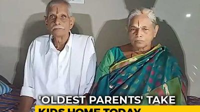 Andhra Couple, 'World's Oldest Parents', To Take Twin Girls Home Today