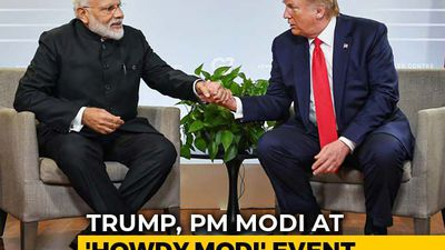 "Trump To Join PM At 'Howdy, Modi' Texas Event ""To Emphasize Strong Ties"""