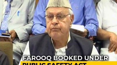 On Farooq Abdullah, Detained Under Tough Law, Top Court Notice To Centre