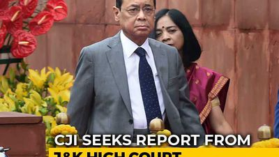 """Will Visit J&K High Court"": Chief Justice Of India Reacts To Allegations"