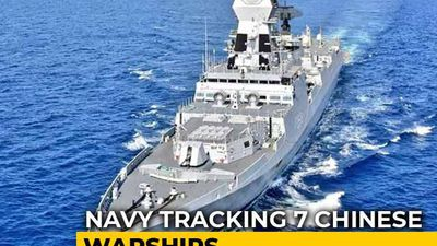 Navy's Spy Plane Tracking 7 Chinese Warships In Indian Ocean Region