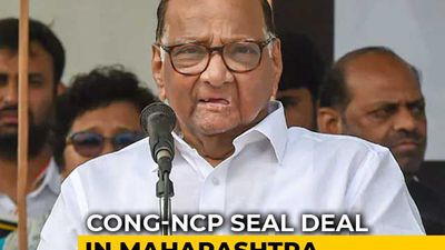 Congress, Sharad Pawar's Party Seal Seat-Sharing For Maharashtra Polls