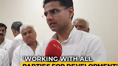 """Welcome 6 BSP MLAs Joined Congress Without Pre-Conditions"": Sachin Pilot"